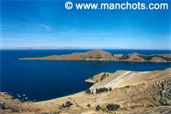 Lac Titicaca depuis Isla del Sol (Bolivie)