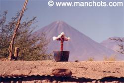 Volcan de San Pedro de Atacama (Chili)