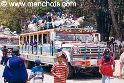 Chiva (bus) du marché de Silvia (Colombie)