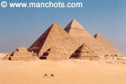 Pyramides - Gizeh (Egypte)