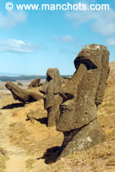 Moais (Easter Island)