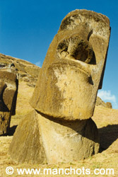 Moai - Rano Raraku (île de Pâques)