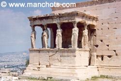 Portique aux Caryatides, Acropole - Athènes (Grèce)