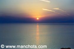 Coucher de soleil, Oia - île Santorin (Grèce)