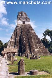 Pyramide - Tikal (Guatemala)