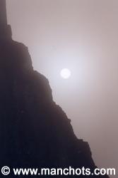 Tikal dans la brume (Guatemala)