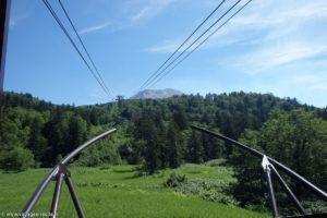 Mont Asahi depuis téléphérique (Japon)