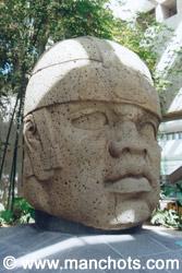 Tête olméque - Xalapa (Mexique)