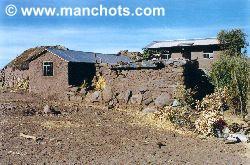Maison - Île de Taquile (Pérou)