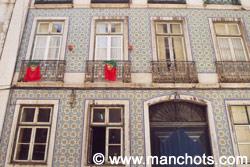 Façade de bâtiment - Lisbonne (Portugal)