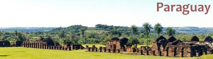 Ruines d'une réduction de la compagnie de Jésus - Trinidad (Paraguay)