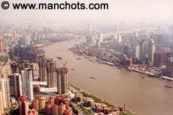 Le Shanghai moderne (Chine)