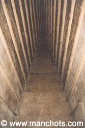 Dans la pyramide rouge - Dachour (Egypte)