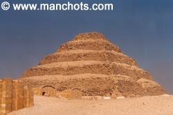 Pyramide - Saqqarah (Egypte)
