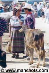 Marché de San Francisco el Alto (Guatemala)