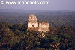 Pyramides mayas - Tikal (Guatemala)
