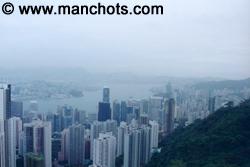 Depuis le mont Victoria (Hong Kong)