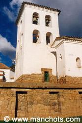 Eglise sur des fondations incas - Chinchero (Pérou)