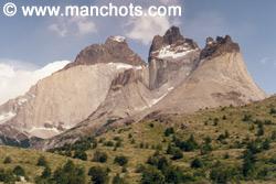 パイネ山 (2670m) (パタゴニア)
