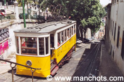 Tramway - Lisbonne (Portugal)
